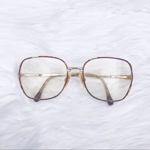 Vintage Oversized Optical Glasses